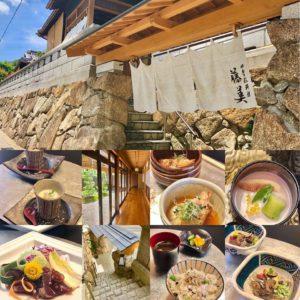 駄知町の四季彩料理 藤美さんでパワーランチ!なんだか旅館に泊まりに来た錯覚だ。