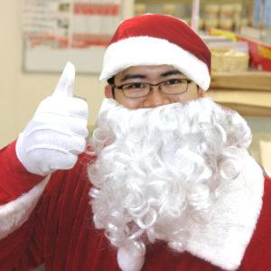 必見、サンタクロースがクリスマスケーキを配達してくれる!ミニストップ土岐泉定林寺店限定の期間限定サービスが大人気受付中です!(11/30迄が更にお得)
