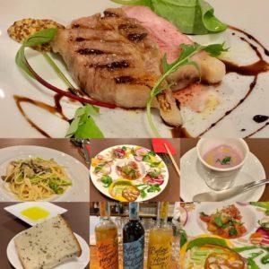 『土岐川を眺めながらイタリアン』肥田町にある隠れ家イタリアンSAIさんで美味しいコース料理を頂いてきました。独りで(笑)