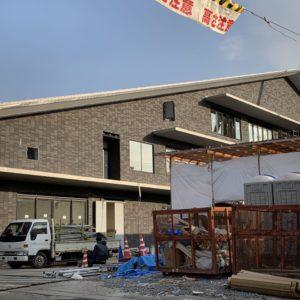 今年春に開庁予定・土岐市役所庁舎の改装も着々進行中。平成31年3月2日(土)正午より落成式、18日より新旧並行稼働予定とのこと。