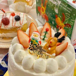【完全予約制の隠れ家ケーキ工房】肥田町にあるカントリーケーキ・ファームハウスさんでクリスマスケーキを予約して来ました♪優しい甘さで子供からお年寄りまでみんなが笑顔になれるケーキです。