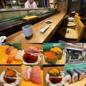 いわゆる回転しない寿司屋さん。JR土岐市駅前商店街・寿司屋 鳥安支店さんでランチ上鮨を食べに行ってきました。