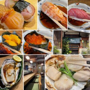 いわゆる回転しない寿司屋さん。JR土岐市駅前商店街・寿司屋 鳥安支店さんでランチ上鮨+仕入れたばかりのホタテ、牡蠣、赤貝を食べに行ってきました。