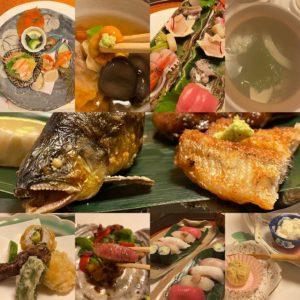 ぎふ Go To Eat 食事券使えます!【秋の旨いもんを全部出てきた】妻木町にある季節の旬を使った日本料理あいみさんへ初めて行ってきました。団体客のみかと思いきや、一人でも行けるええ感じのお店。ランチも有り。