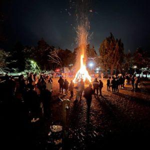 12/31大晦日の夜23時45分~土岐市泉中窯町 白山神社のどんど焼き、初詣&老舗うどん屋・ながえさんにて年越しそばの予約始まってます!もうすぐ一年が終わるね・・・